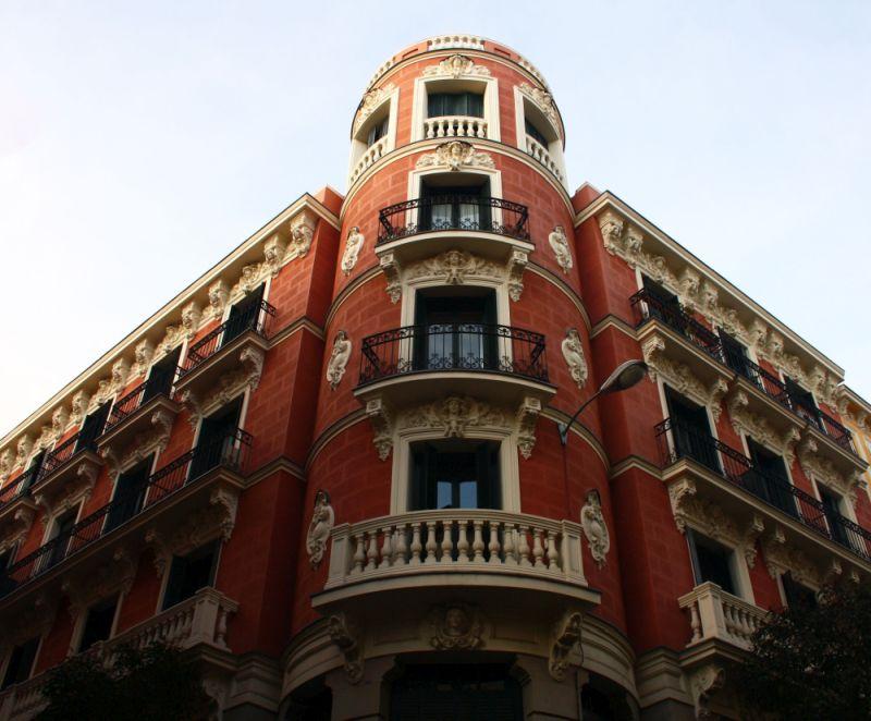 Viviendas para el marqués de Valdeterrazo (calle Hortaleza, 57)