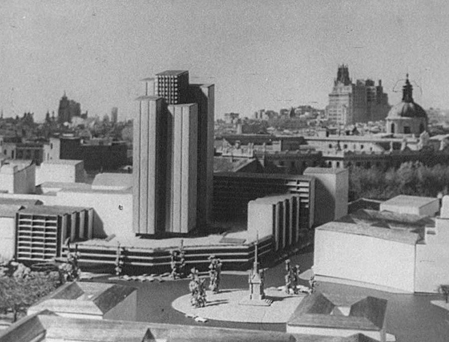 Así iba a ser el Centro Colón de Madrid