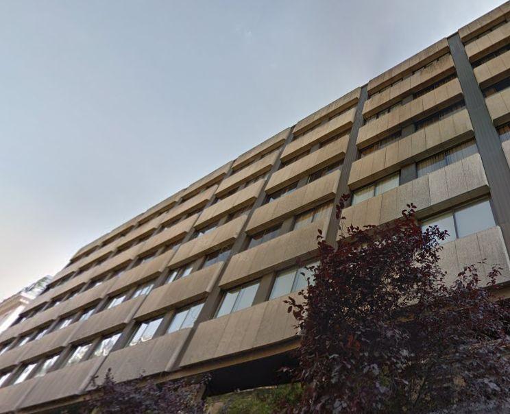 Edificio Apartamentos Recoletos donde estaba el Frontón Recoletos