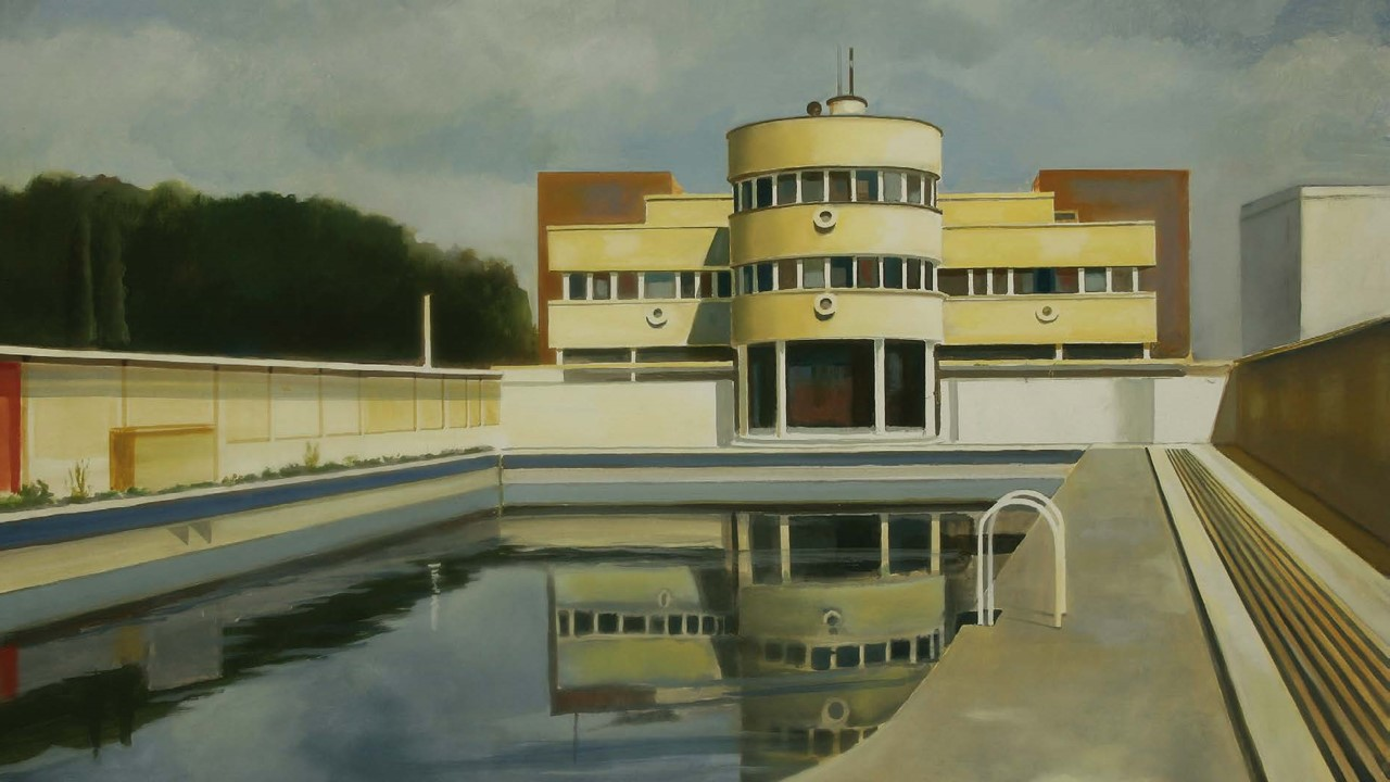 Edificios desaparecidos de Madrid Art Decó naval Piscina de la Isla