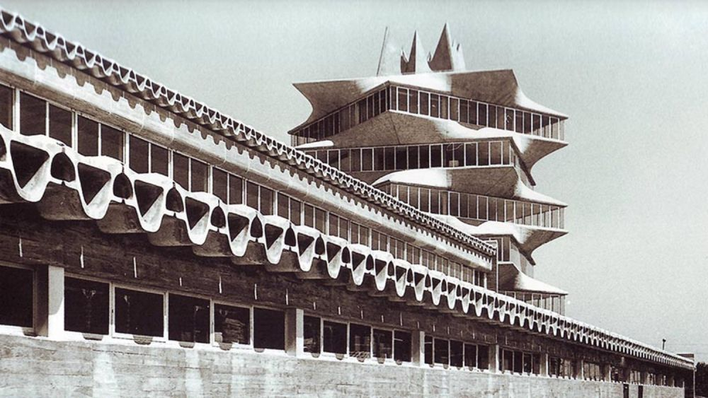 Edificios desaparecidos de Madrid Brutalismo de La Pagoda de Fisac