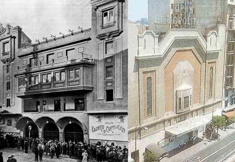 Edificios desaparecidos de Madrid Monumental Cinema versus Cine Metropolitano