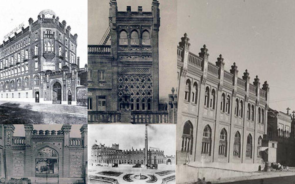 Edificios desaparecidos de Madrid Fábrica de la Perfumería Gal