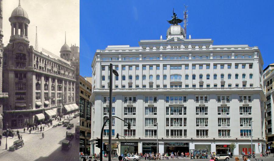 Edificios desaparecidos de Madrid Gran Vía 32