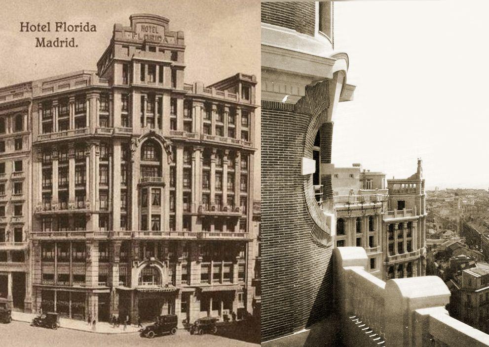 Edificios desaparecidos de Madrid Hotel Florida