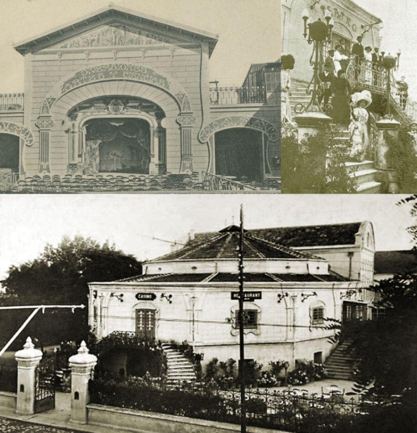 Edificios desaparecidos de Madrid Parque de Diversiones de Ciudad Lineal