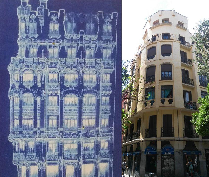 Edificios desaparecidos de Madrid Plaza 2 de Mayo Modernismo