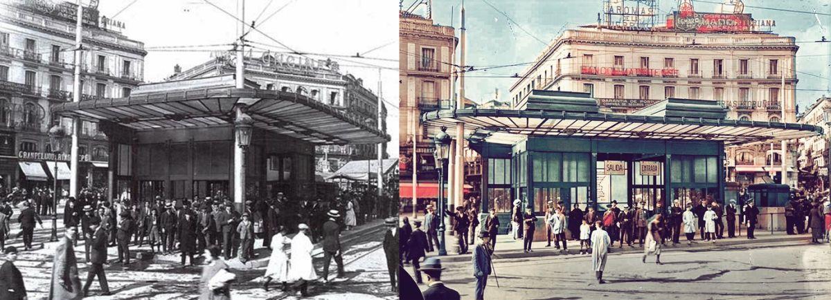 Edificios desaparecidos de Madrid Templete Puerta del Sol