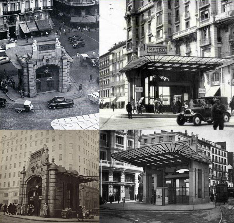 Edificios desaparecidos de Madrid Templete Red San Luis