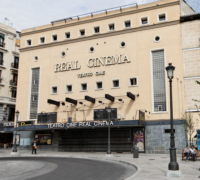Edificios desaparecidos de Madrid aspecto actual del Real Cinema