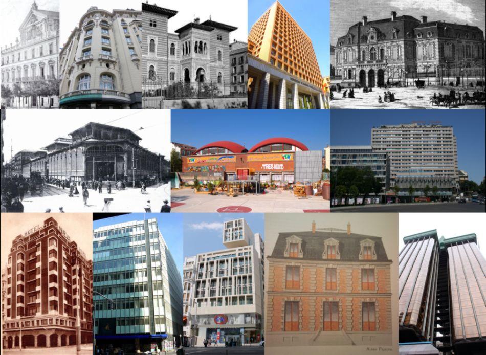 Edificios desaparecidos de Madrid del siglo XIX y XX