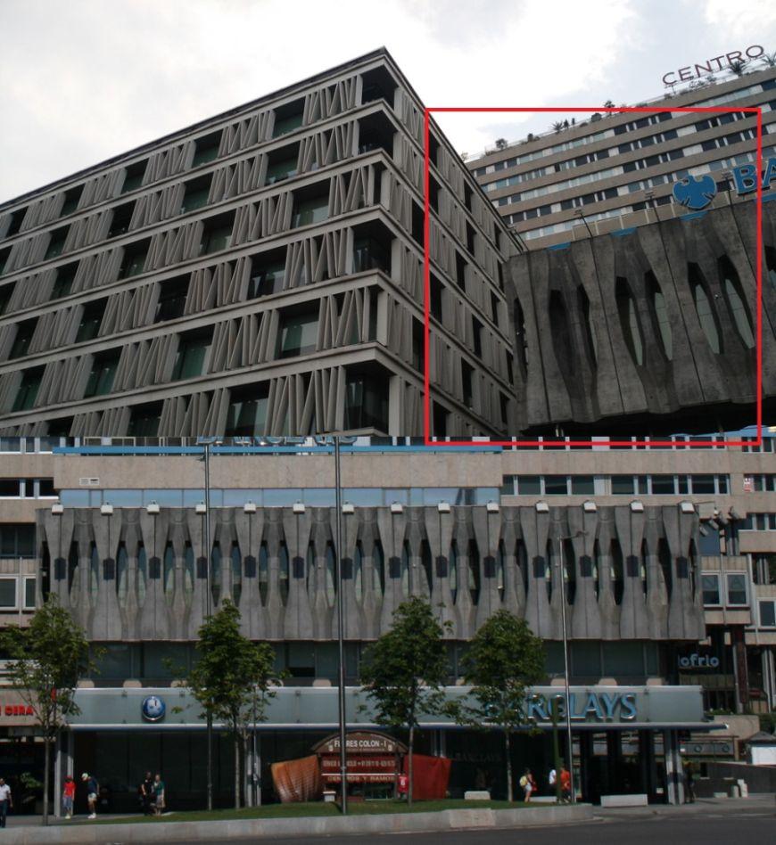 Edificios desaparecidos de Madrid el Barclays de Colón