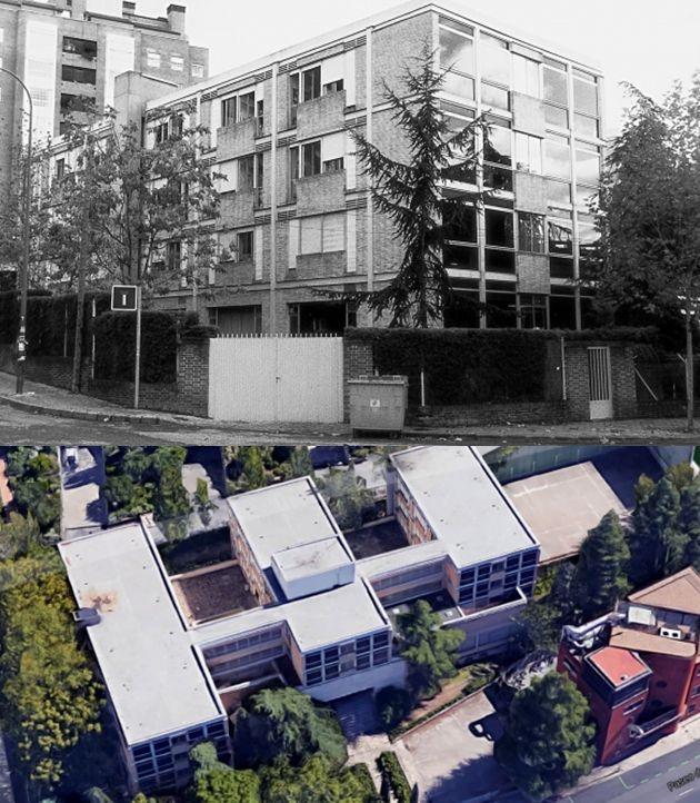 Edificios desaparecidos de Madrid el Colegio Mayor Hispano Mexicano