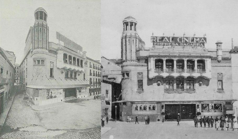 Edificios desaparecidos de Madrid el modernista Real Cinema