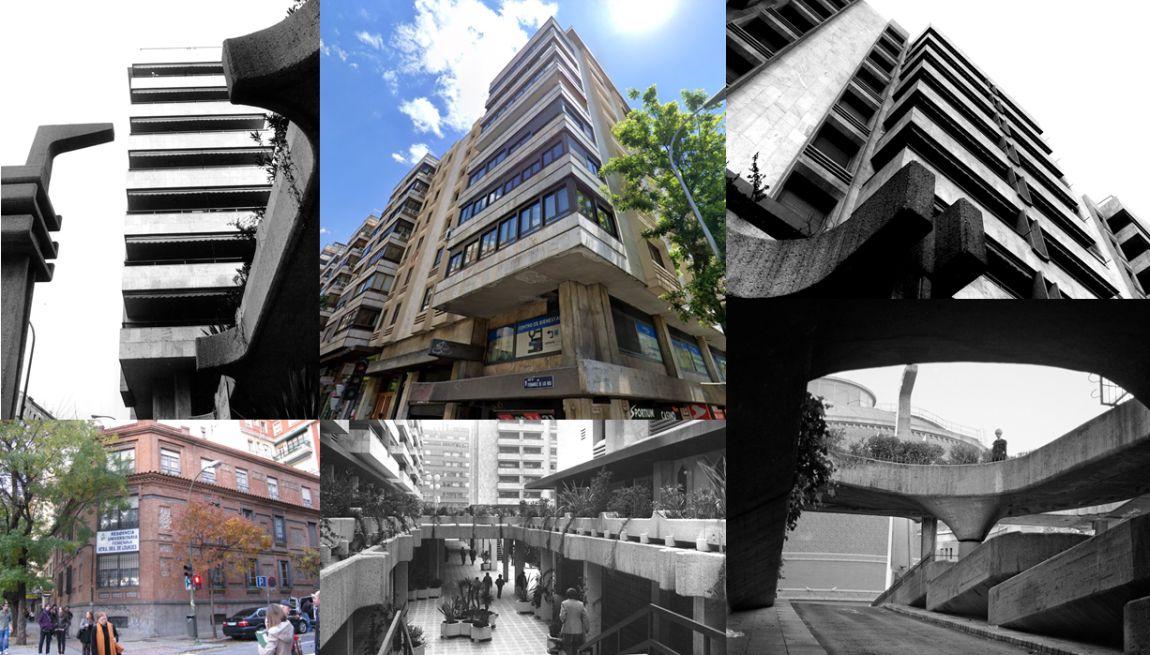 Edificios desaparecidos de Madrid sustituidos por el Brutalismo Lamela