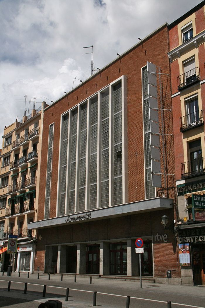 Edificios mutilados de Madrid Monumental Cinema