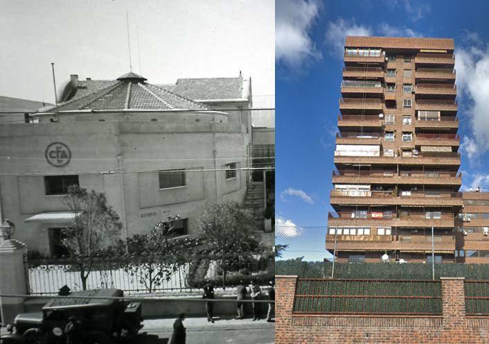 Edificios desaparecidos de Madrid: Estudios Cinematografía Española CEA en la actualidad