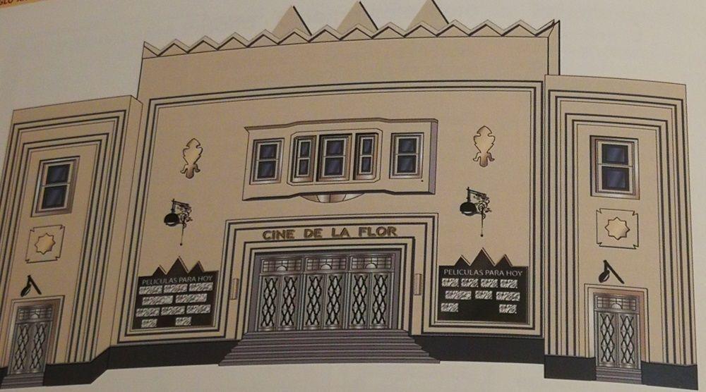 Edificios desaparecidos de Madrid Art Decó: el Zigzag Moderne Cine de la Flor