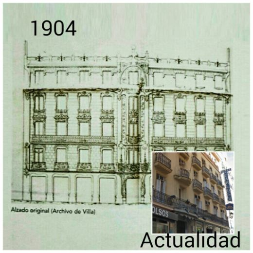 Modernismo Madrid antiguo