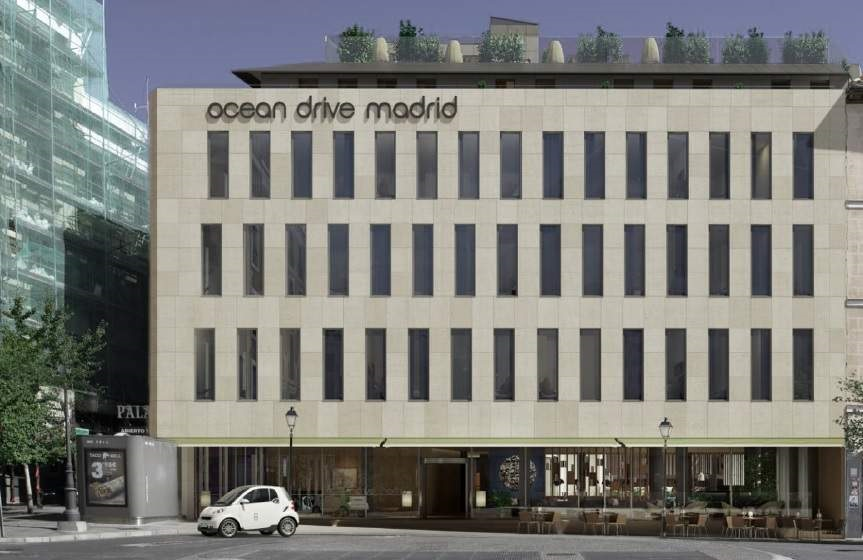 Ocean Drive Madrid en el antiguo Real Cinema