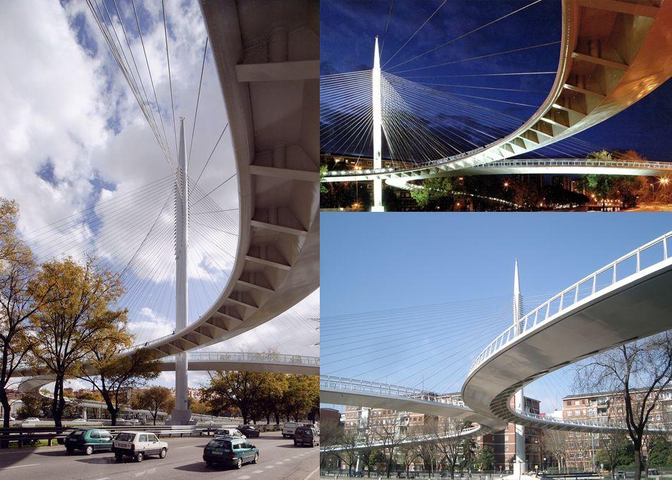 Puentes o edificios desaparecidos de Madrid Río