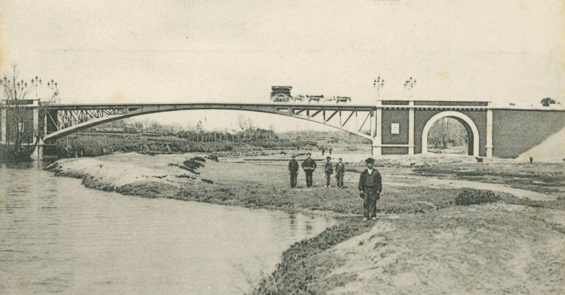 Puentes y edificios desaparecidos de Madrid Puente Princesa de Asturias