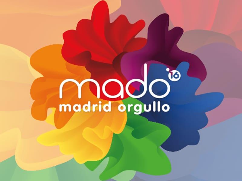 Imagen promocional del Orgullo de Madrid 2016