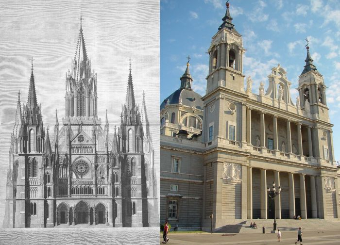 Catedrales de Madrid historia de La Almudena