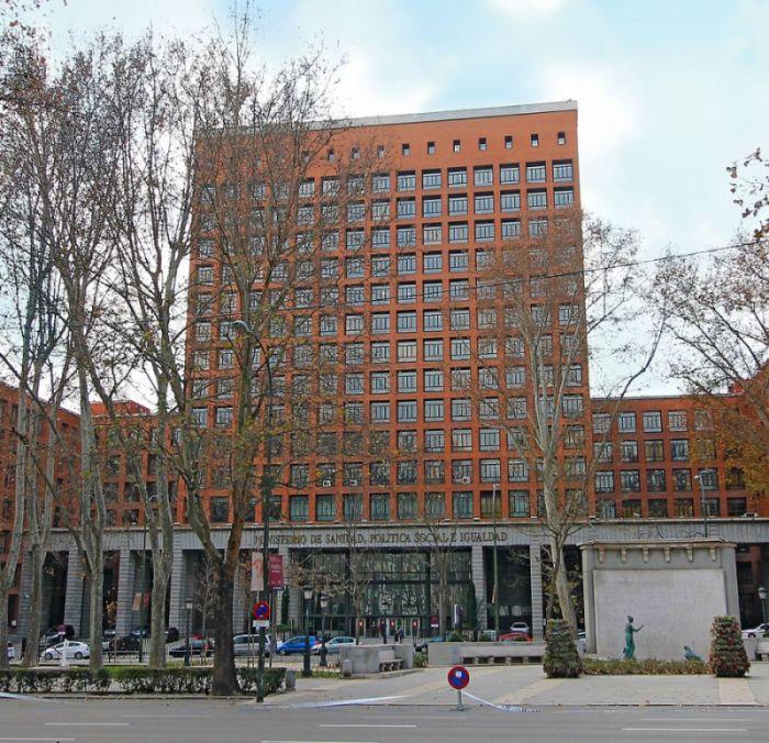 Casa Sindical de Madrid, entre los primeros rascacielos españoles