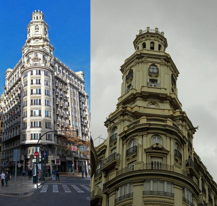 Edificio Los Sótanos de Valencia