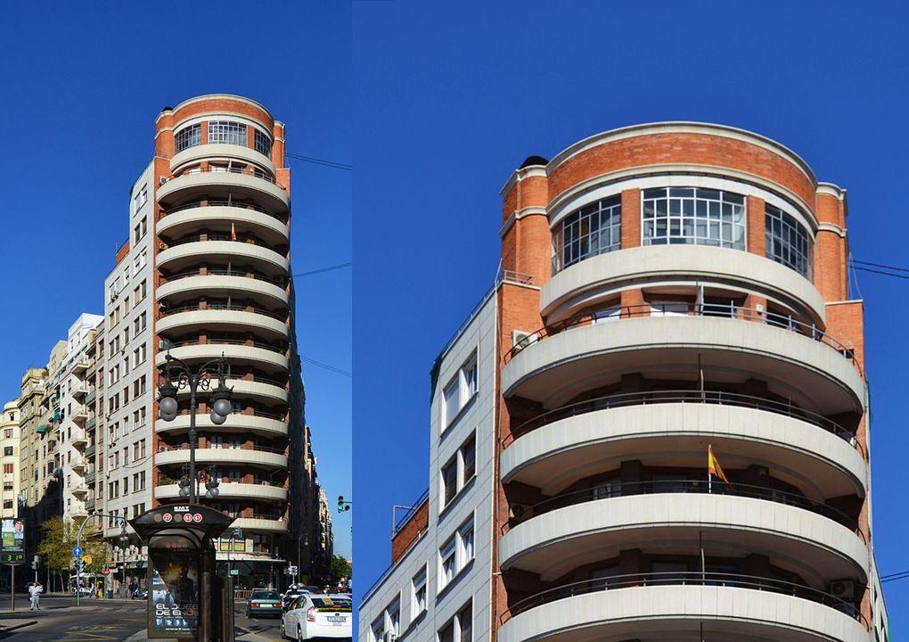 Edificio Merle, entre los primeros rascacielos españoles