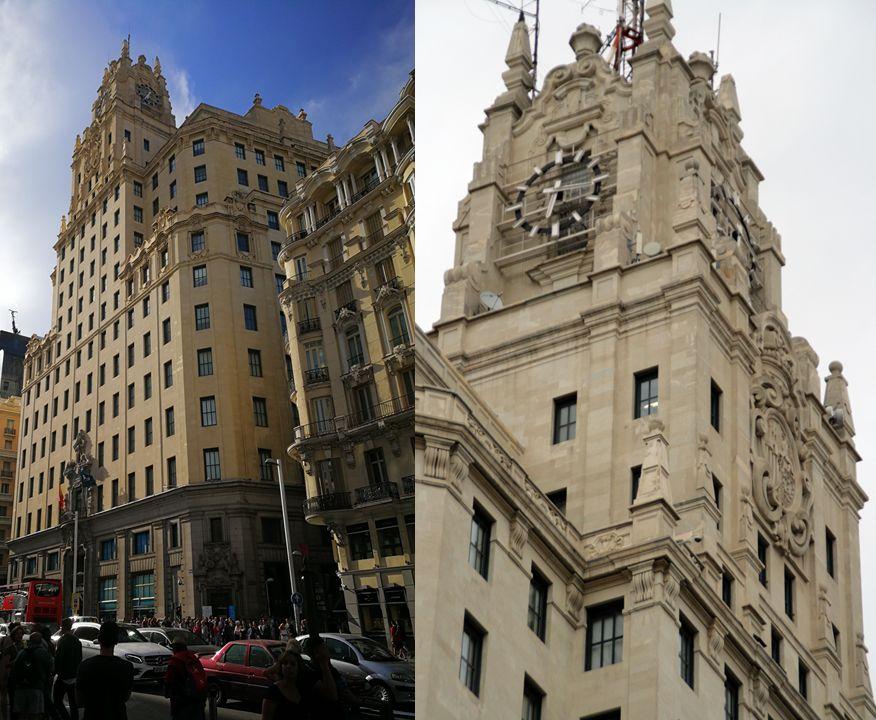 Edificio Telefónica, de los primeros rascacielos españoles