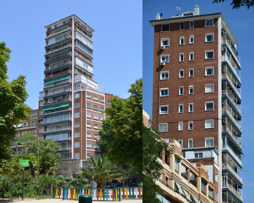 Primeros rascacielos españoles, Torre de Pintor Rosales 48