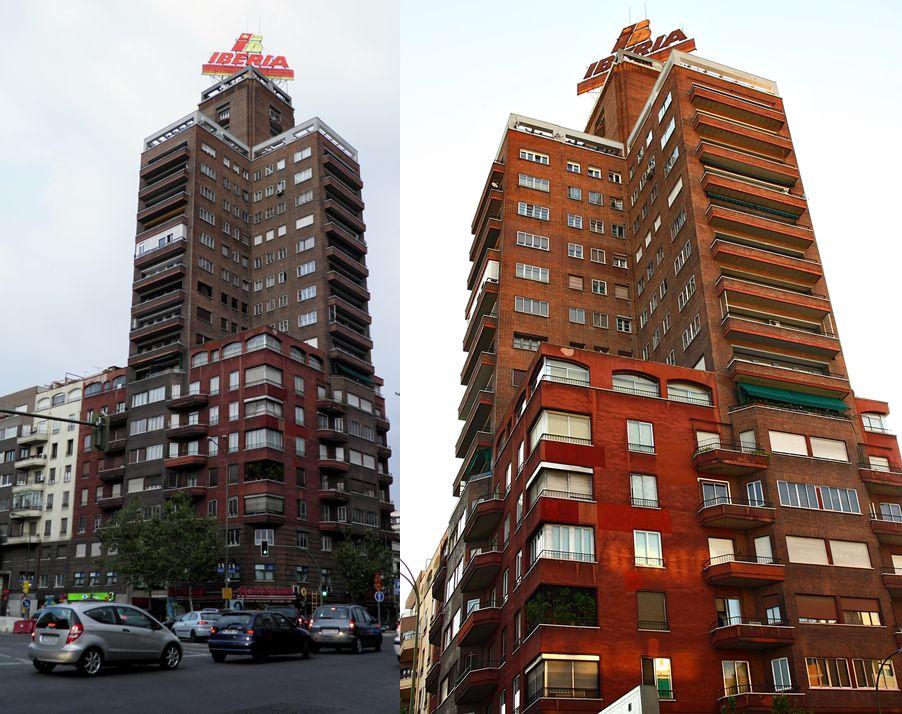 Primeros rascacielos españoles, el edificio Bancaya de Madrid