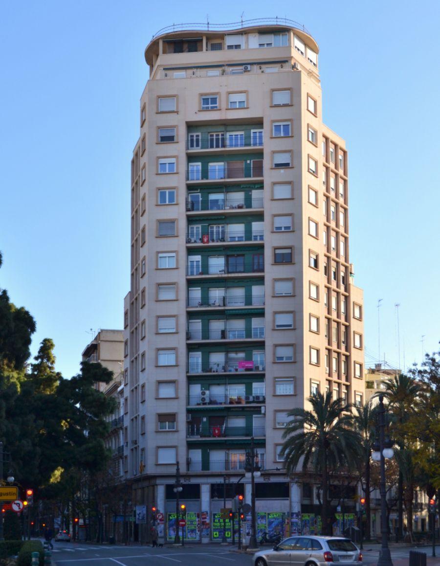 Primeros rascacielos españoles en Gran Vía Marqués del Turia 2 Valencia