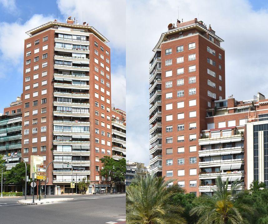 Primeros rascacielos españoles en Valencia