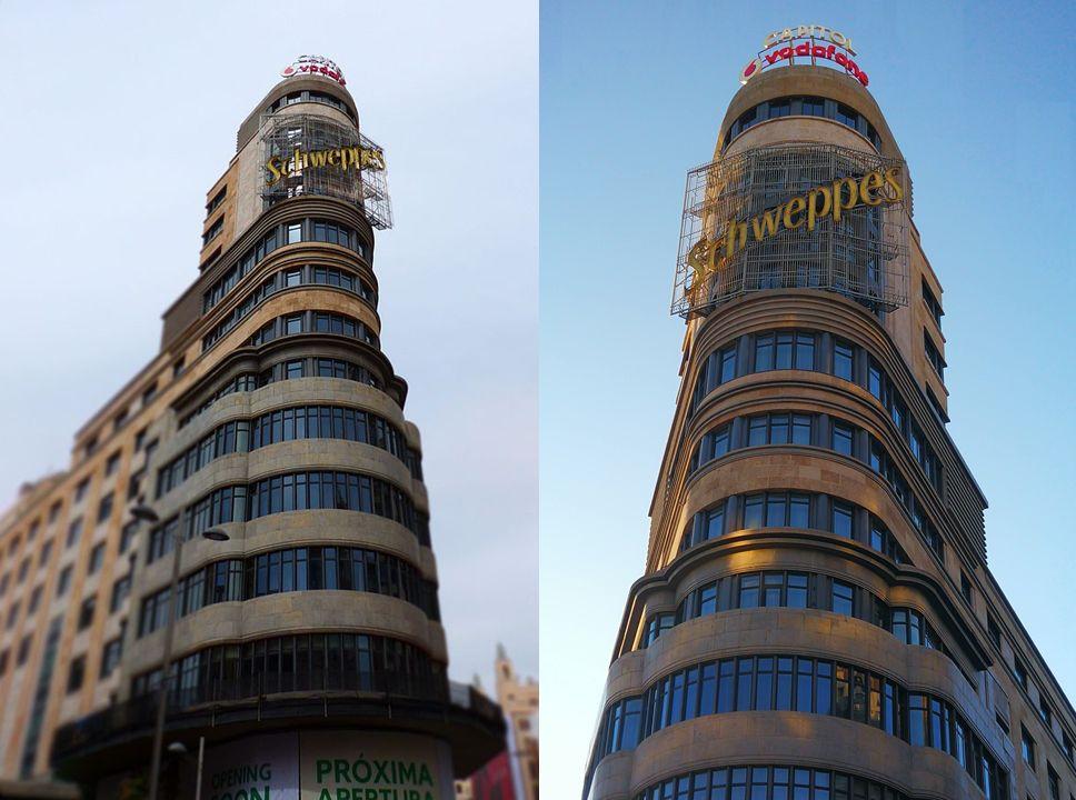 Rascacielos Art Decó en España