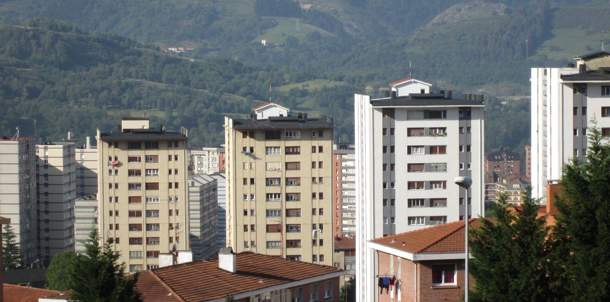 Rascacielos de Otxarkoaga en Bilbao