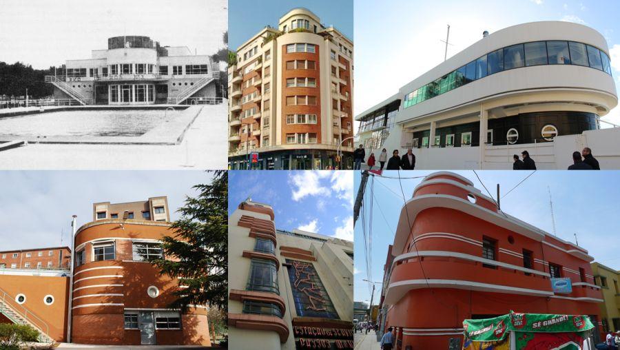 Arquitectura Art Decó Streamline Moderne o estilo aerodinámico