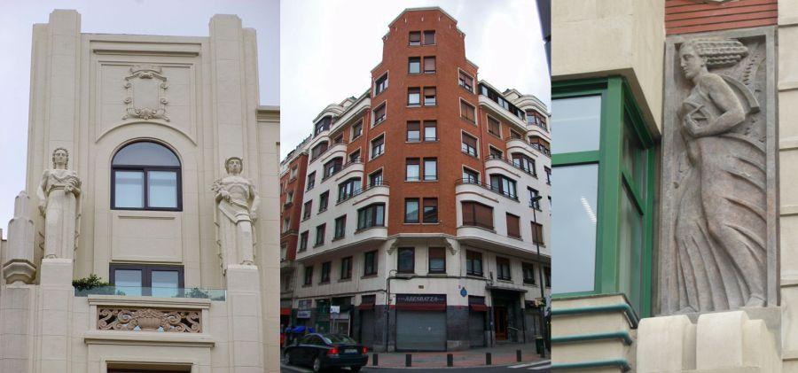 Arquitectura Art Decó en Bilbao