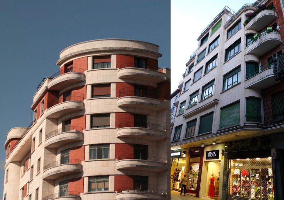 Arquitectura Art Decó en Burgos