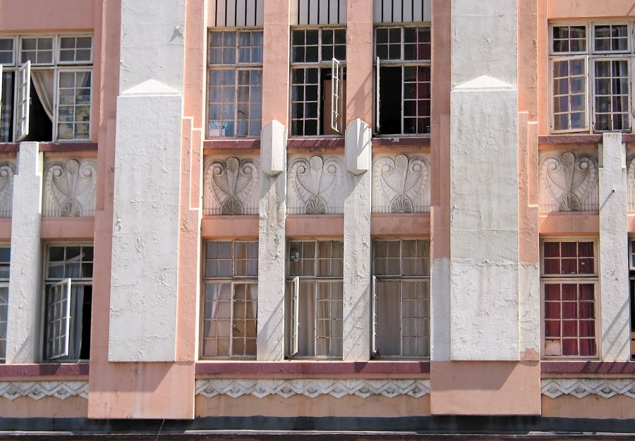 Arquitectura Art Decó en Durban Sudáfrica