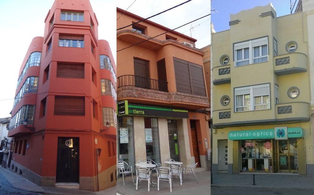 Arquitectura Art Decó en Huesca
