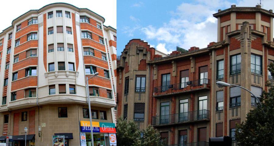 Arquitectura Art Decó en Pamplona