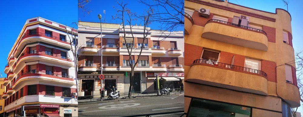 Arquitectura Art Decó en Vallecas de Madrid