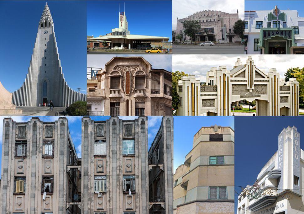 Arquitectura Art Decó en el mundo