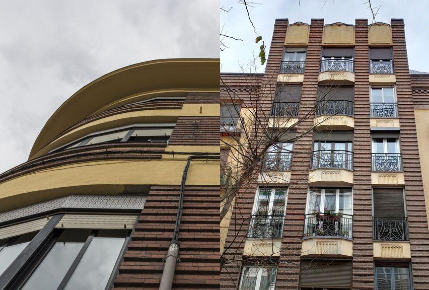 Estrías en la arquitectura Art Decó