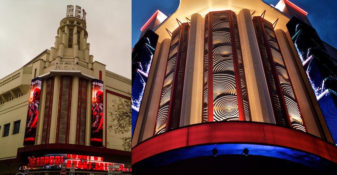 Fachada escalonada en la arquitectura Art Decó de París