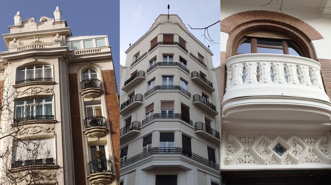 Madrid Art Decó en 3 barrios de Chamberí