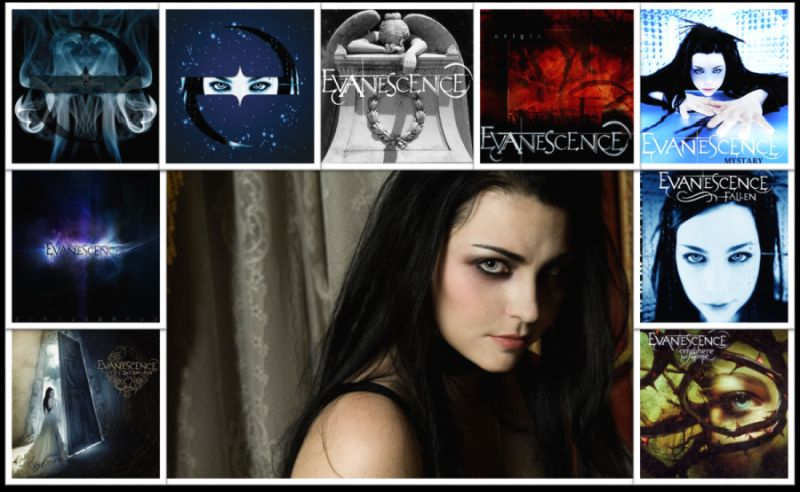 discografía de evanescence amy lee